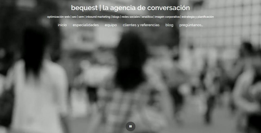 Bequest, la agencia de conversación